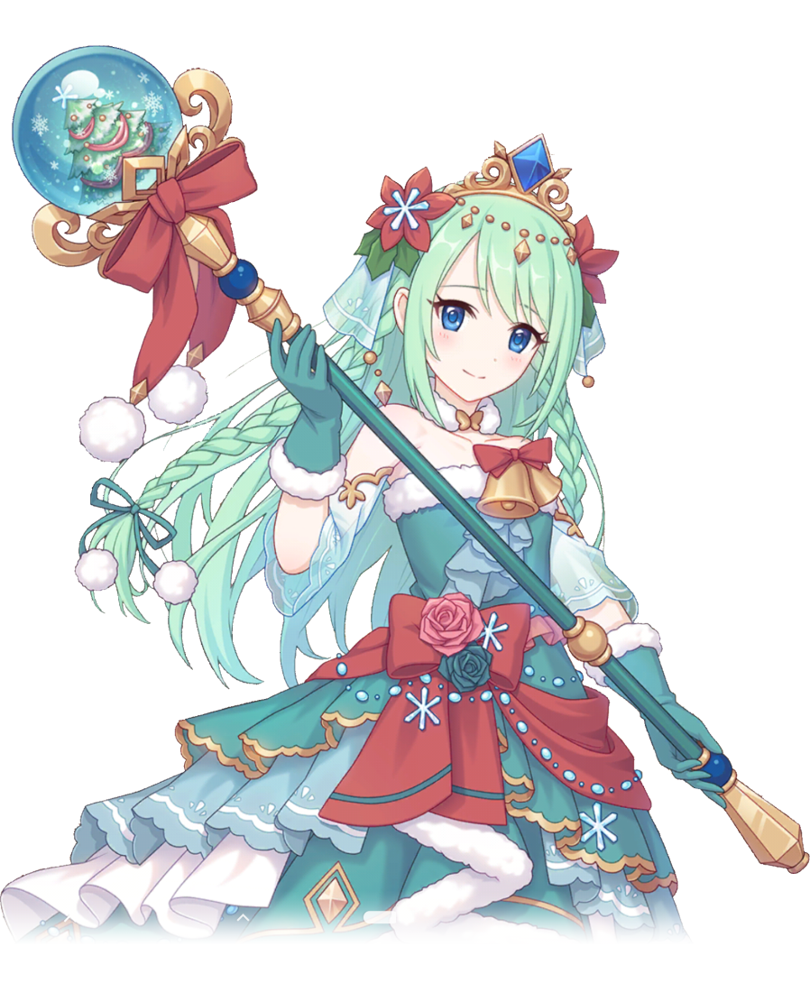 Chika Christmas Characters Priconne Translations